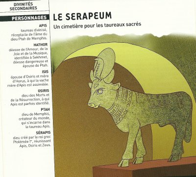 Croyances et religions de l'Egypte n°1 : Les animaux sacrés (3e partie).