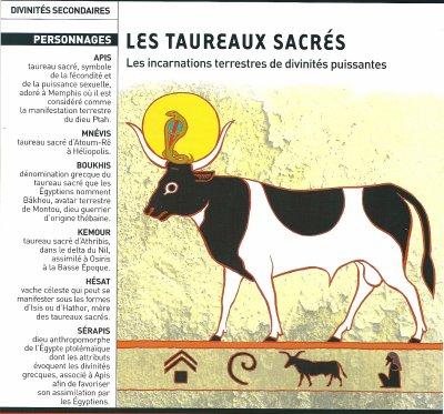 Croyances et religions de l'Egypte n°1 : Les animaux sacrés (4e partie).