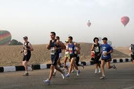 Marathon de Louxor et de Guizeh : le 27 janvier 2012.