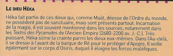 Légendes, croyances, religions de l'Egypte n°7 : Magie et religion (2e partie).