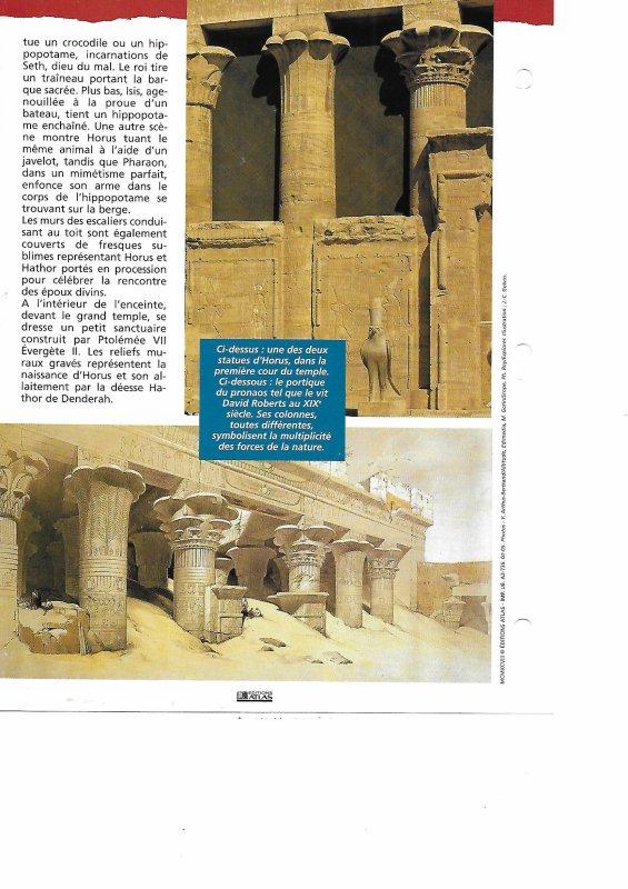Culture gyptienne n 17 l 39 egypte et son architecture for Architecture egyptienne