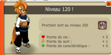 Enfin niveau 120