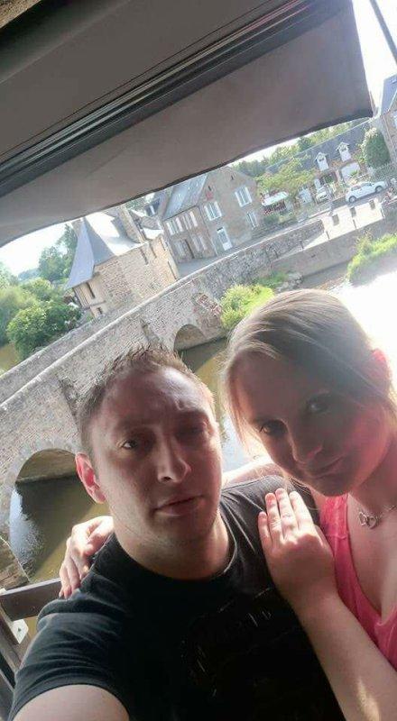 Moi et mon chéri en Bretagne