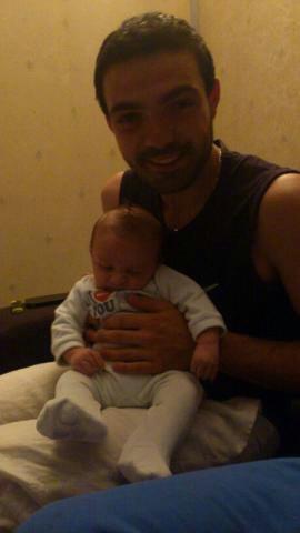 mon petit fils et mon fils