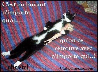 attention quand on boit????????????