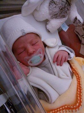 mon petit fils est né