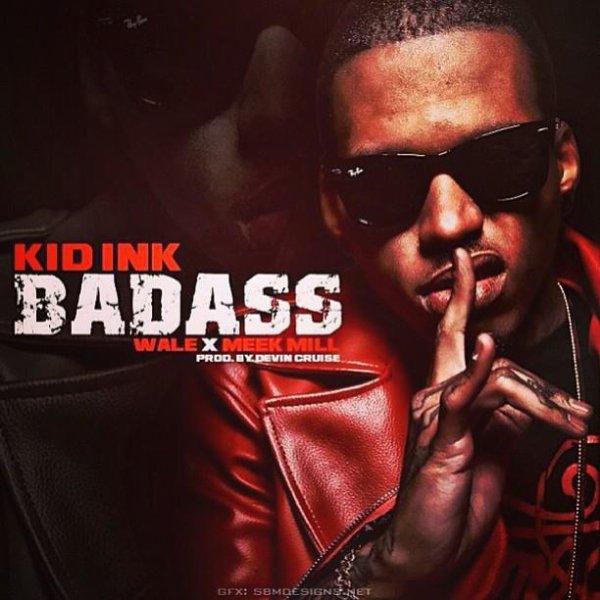 """Cover Officiel du nouveau Single """" Bad Ass remix """" pour sa signature chez RCA Records X Alumni . ( 7.01.2013  )"""