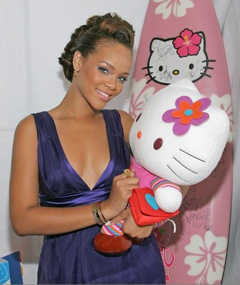 Les stars aiment  Hello Kitty
