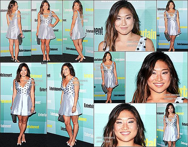 * 11/07/15 : Jenna  a assisté à l'événement « Entertainment Weekly Party » - qui se déroulait dans San Diego. Jenna est resplendissante comme ça. La robe lui va à merveille et j'aime bien son maquillage discret, ça lui va bien je trouve C'est un Top pour moi  *