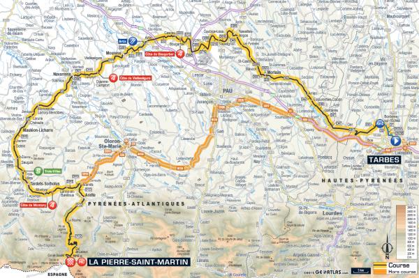 étape 10 Tarbes > La Pierre-saint Martin