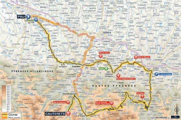 étape 11 Pau/Cauterets > Vallée de Saint Savin