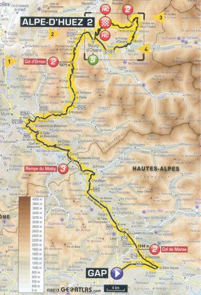 étape 18 Gap/Alpe d'Huez