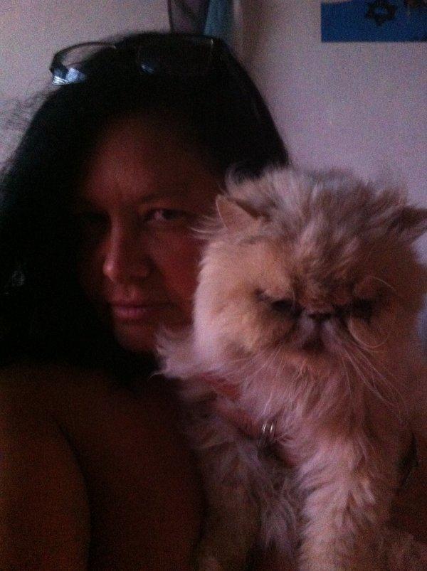 Mon gros chat et moi