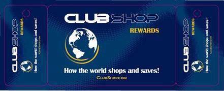 La Carte de Fidélité ClubShop Rewards