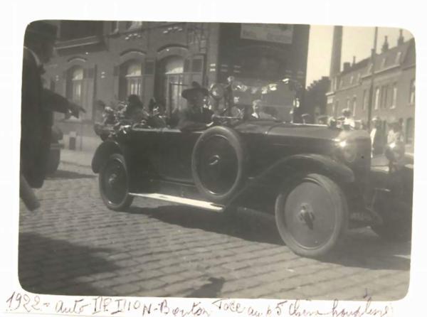 RUE DU CHENE HOUPLINE 1922