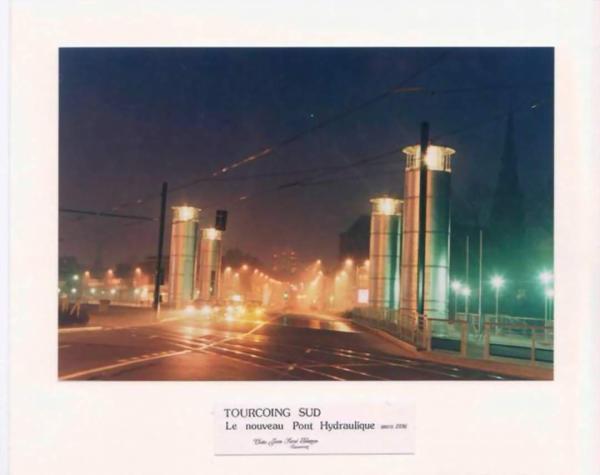 Pont hydraulique de nuit Mars 1996