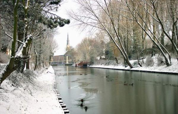 Canal l 'hiver