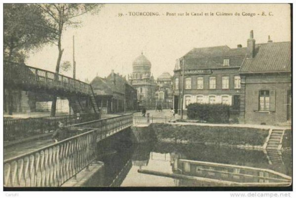 Château et canal Tourcoing