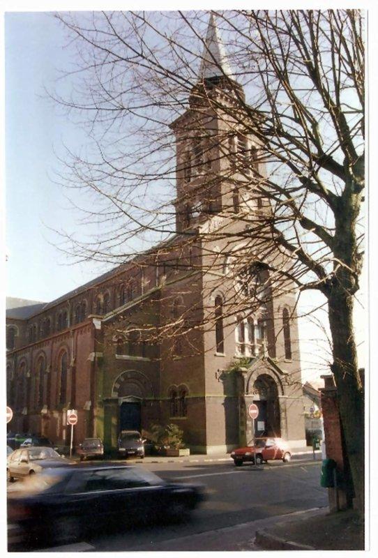 Eglise Saint Joseph à la Croix  Rouge avant sa démolition