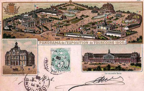 TOURCOING\EXPO 1906-1
