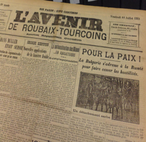 L AVENIR DE  ROUBAIX TOURCOING
