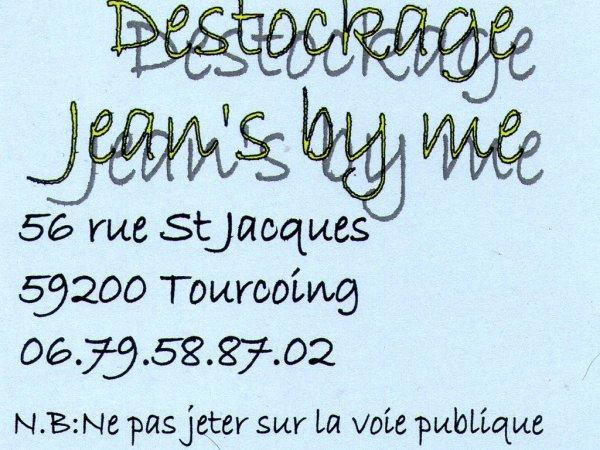jeans by me  rue saint jacque apres la caisse d epargne-8 mars 2012