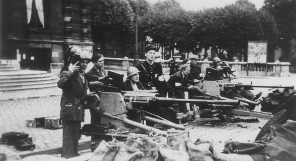 La libération à Tourcoing , du 2 au 4 septembre 1944.