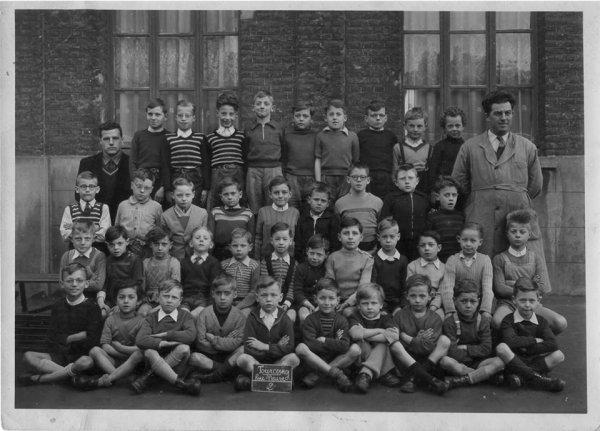 Classe de M. Goubet en 1953