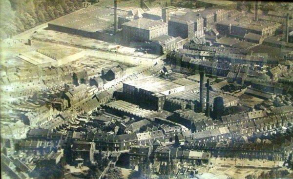 Les usines Tiberghien, quartier blanche-porte-Alsace-rue de Paris.