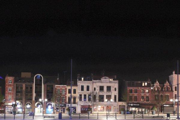 le centre la nuit