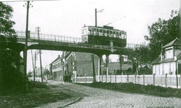 un tram qui reliait Tourcoing à Halluin.