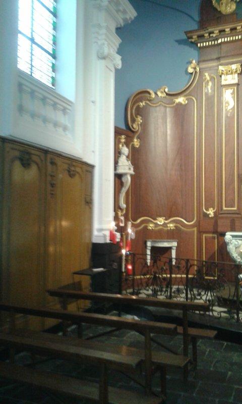 retable  renové chapelle de la marliere