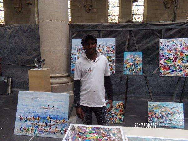 journee du patrimoine saint louis dim 17 sept 2017-10- tairou-artiste