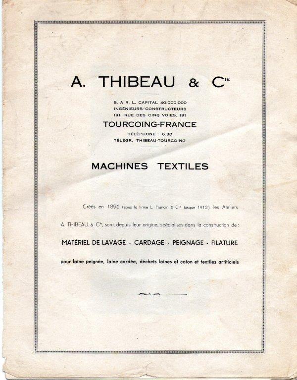 thibeau et companie epideme tourcoing