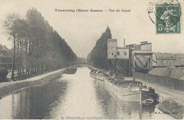 le canal en son passé