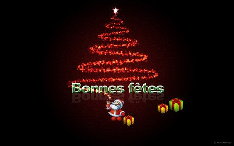 Bonnes fêtes à tous !!
