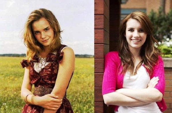 Vous préférez  Emma WATSON ou Emma ROBERTS