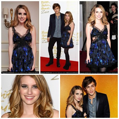 EM British Fashion Awards 2010