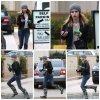 Emma le 18 Décembre quittant le magasin « Barney's » à Beverly Hills.