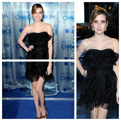 5 Janvier:Emma au people's choice awrds