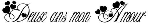 ; Mon tendre Amour ∞