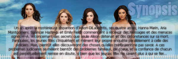 ♦ Pretty Little Liars ♦