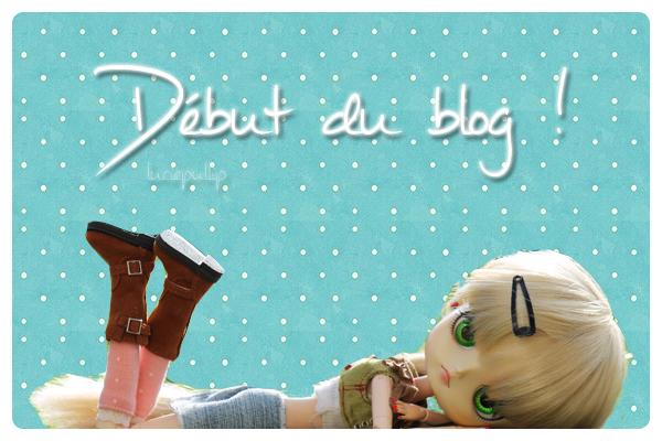 Debut du blog... ♥♥