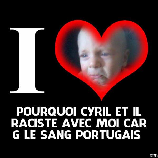J AIME PAS LES RACISTE