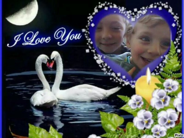 Je vous aime mais amour vous me manqué grave bisous maman ki vous aime plus ke tout♥♥♥