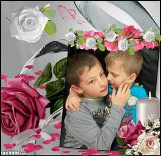 Mais 2 bébés d'amours je vous aimes maman