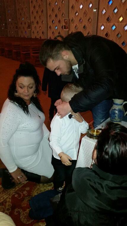 BAPTÊME DE MON FILS LUCENZO
