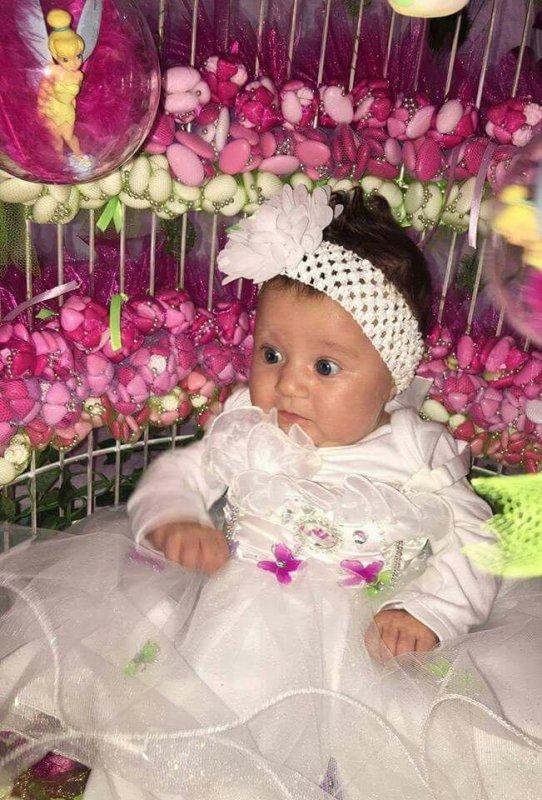 Ma fille marine et mais deux fils lorenzo et lucenzo et ma petite fille DAYSA le jour de son baptêmes