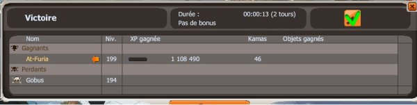 1 100 000 d'xp en 13 secondes