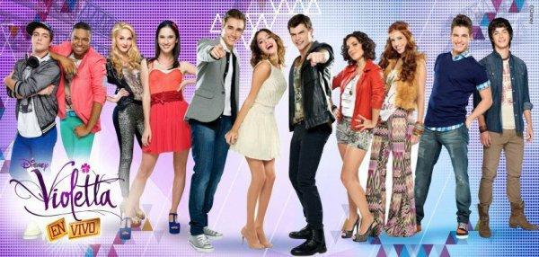 Acteurs violetta saison 2 !! <3